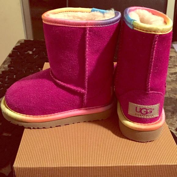 Toddler pink uggs