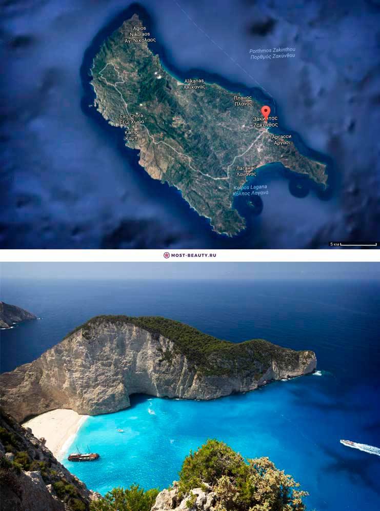 Какой самый красивый остров в греции