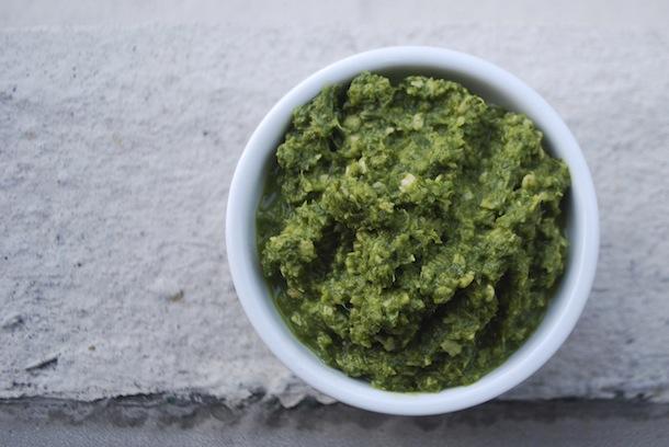 Зеленая аджика по-абхазски