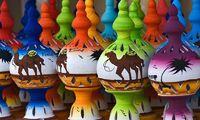 Светильники из керамики - яркий запоминающийся подарок из Туниса