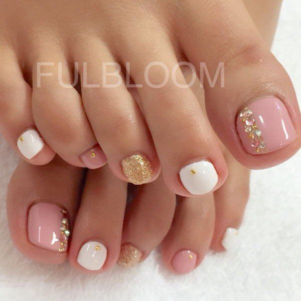 Designs for feet nails