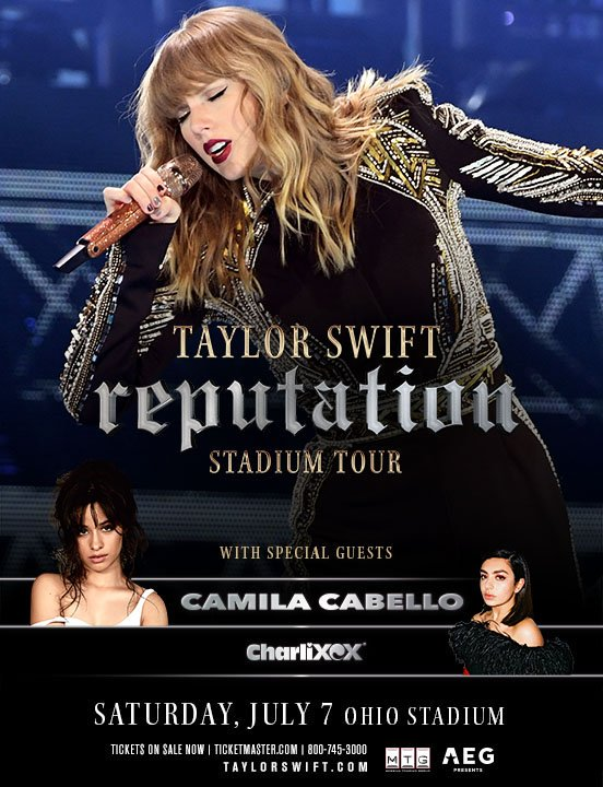 Win taylor swift tickets columbus ohio