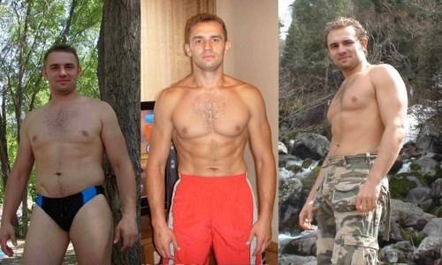 Реальный истории похудения мужчин