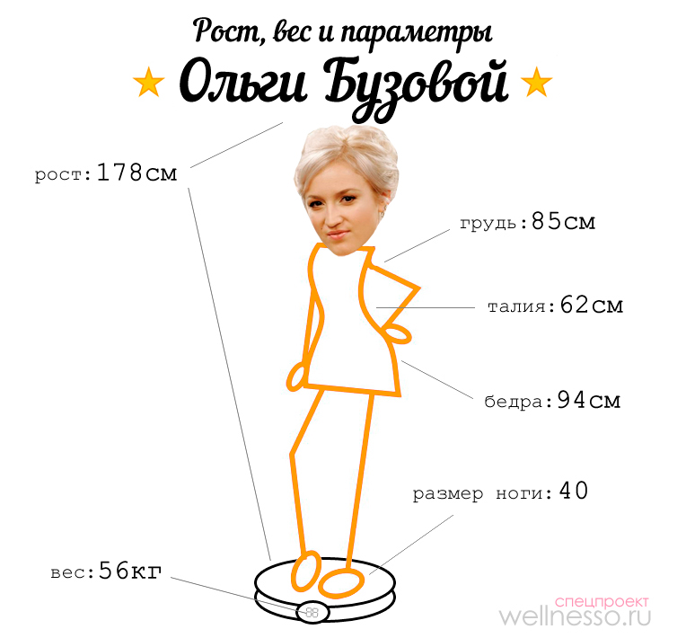 Ольга бузова биография вес рост