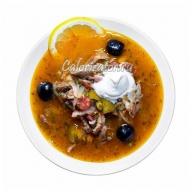 Солянка суп калорийность на 100 грамм