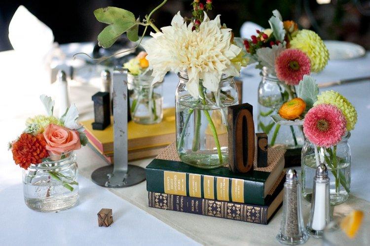 Оформление свадебного стола фото своими руками
