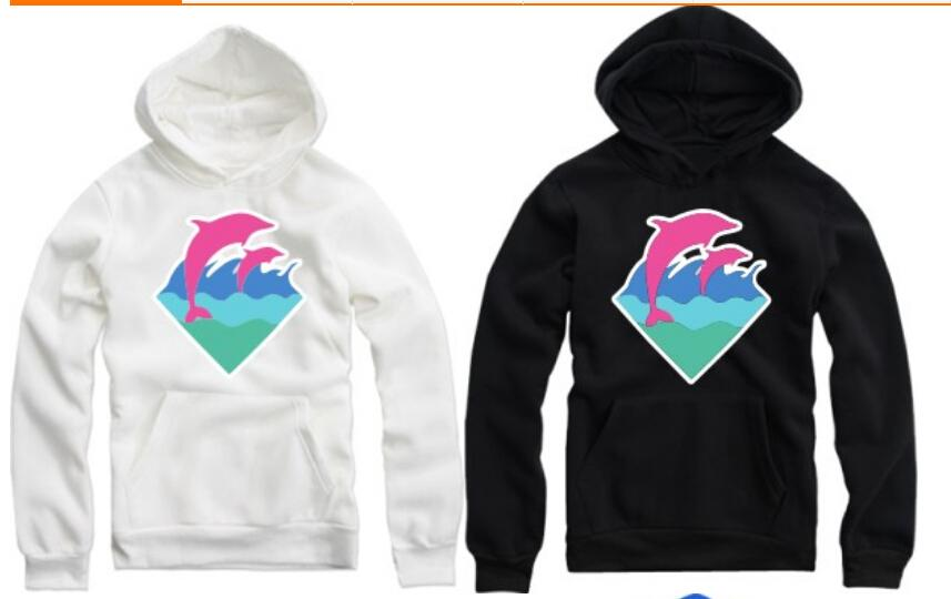 Pink dolphin hoodies cheap