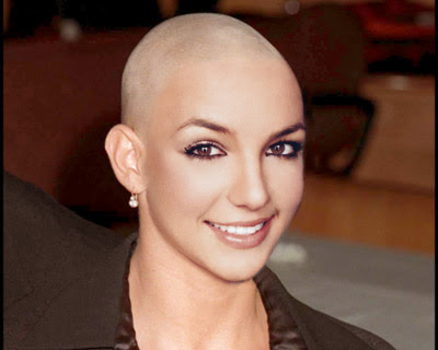 Bald britney spears pictures