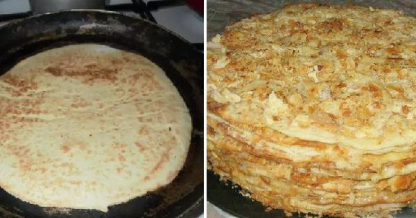 Торт наполеон рецепт классический на сковороде