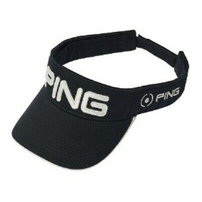 Black and pink ping visor