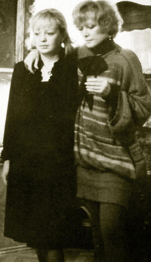Людмила Гурченко с дочерью Марией