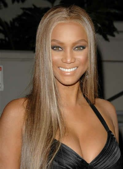 Tyra banks hair color pictures