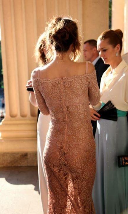Екатерина Климова в прозрачном платье без трусиков
