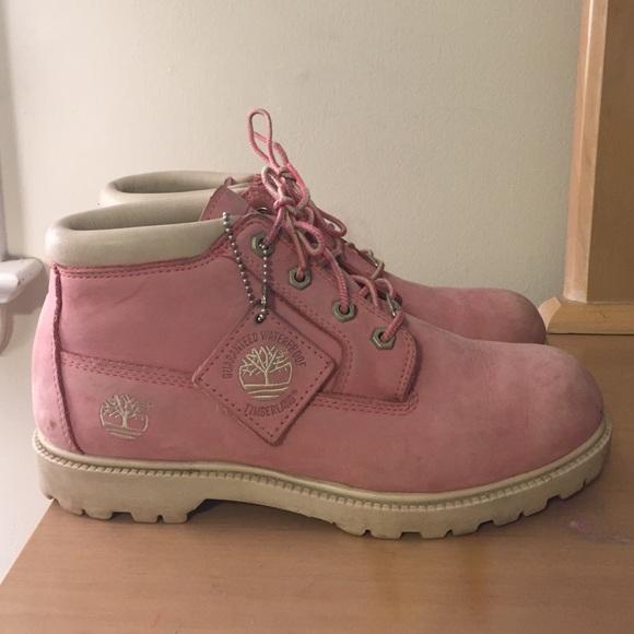 Pink nellie chukka boots