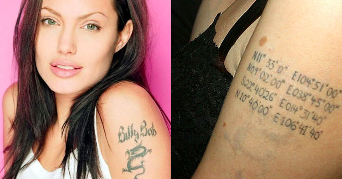 Celebrities who have tattoos