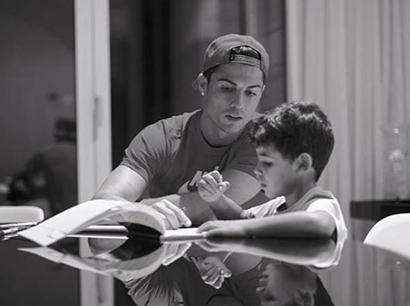 Роналдо о сыне