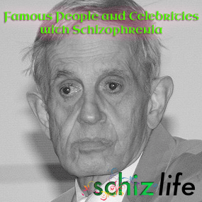 Famous People and Celebrities with Schizophrenia