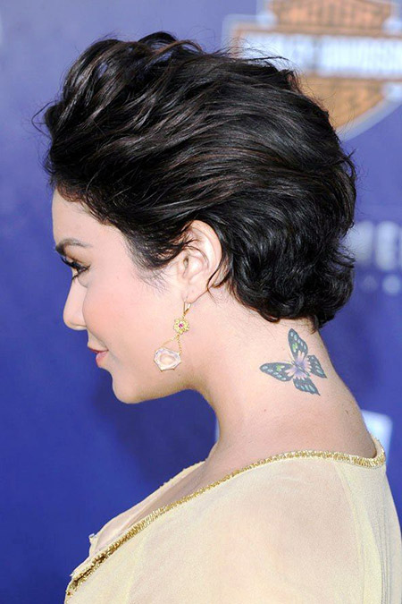 Lovely Pixie Cut by Vanessa Hudgens