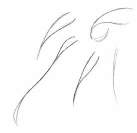 Волосы аниме