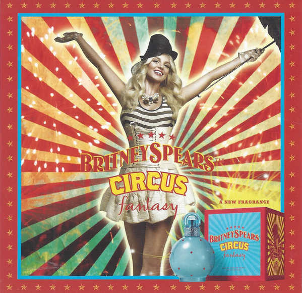 Britney spears circus fantasy cd
