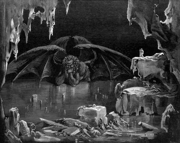 Люцифер, царь ада доре
