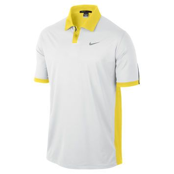 Tiger woods modern color block polo