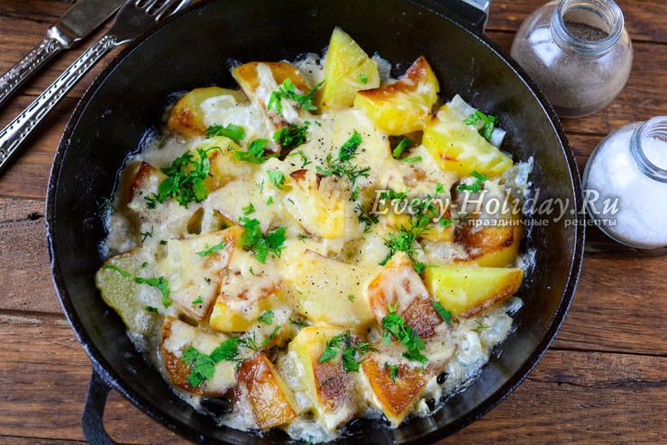 Картофель сметана
