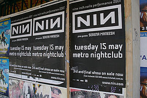 Nine inch nails concert pictures