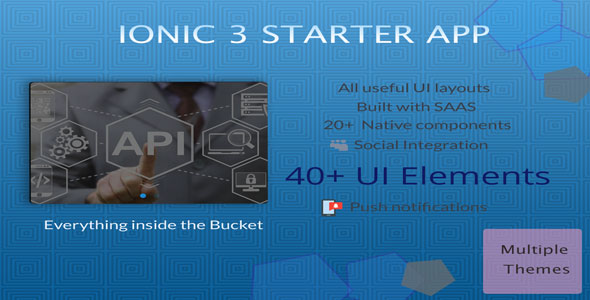 Ionic 4 UI/UX Theme/Template - 3