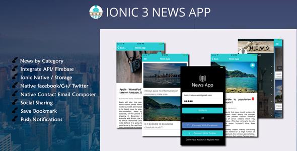 Ionic 4 UI/UX Theme/Template - 4