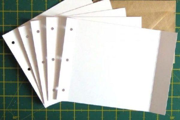 Отверстия для сшивания листов