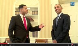 President barack obama and governor mitt romney