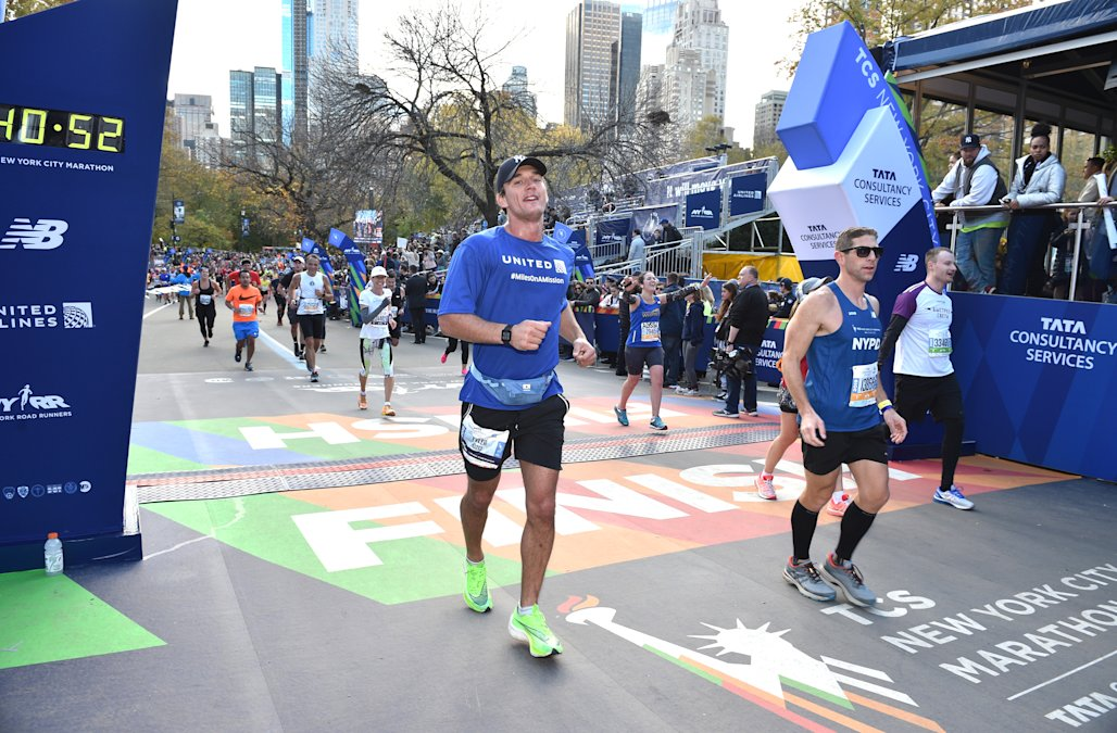 Celebrities running nyc marathon