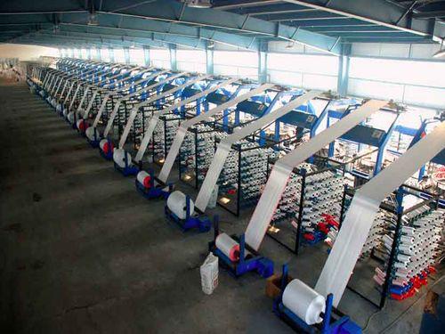 Цех завода по производству полипропиленовых мешков