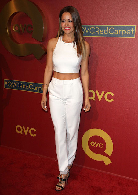 Brooke Burke at 2014 QVC Red Carpet Style Event