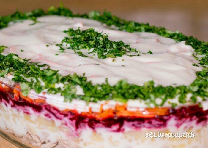 Салат корель рецепт