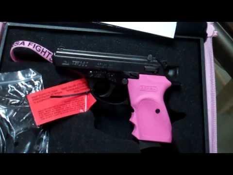Bersa thunder 380 pink breast cancer awareness kit