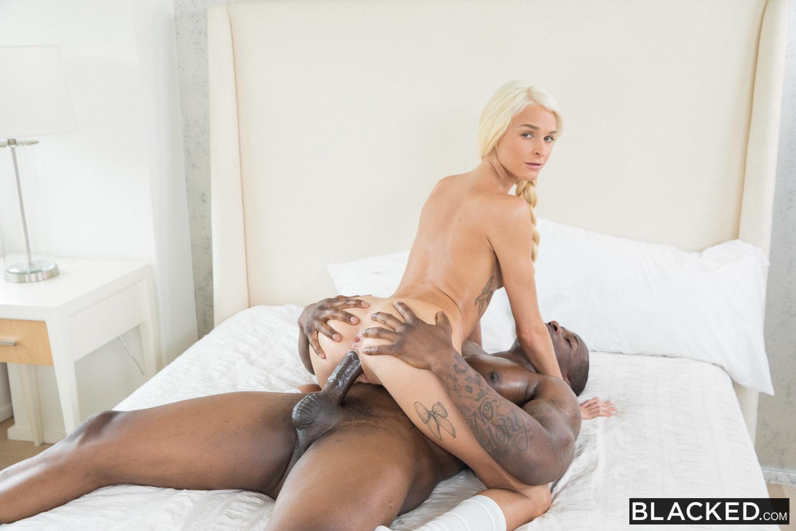 Emma Hix shown stuffed full of sweaty black dick