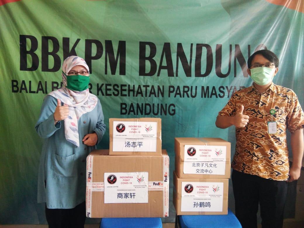 IDN Victoria Salurkan Bantuan APD
