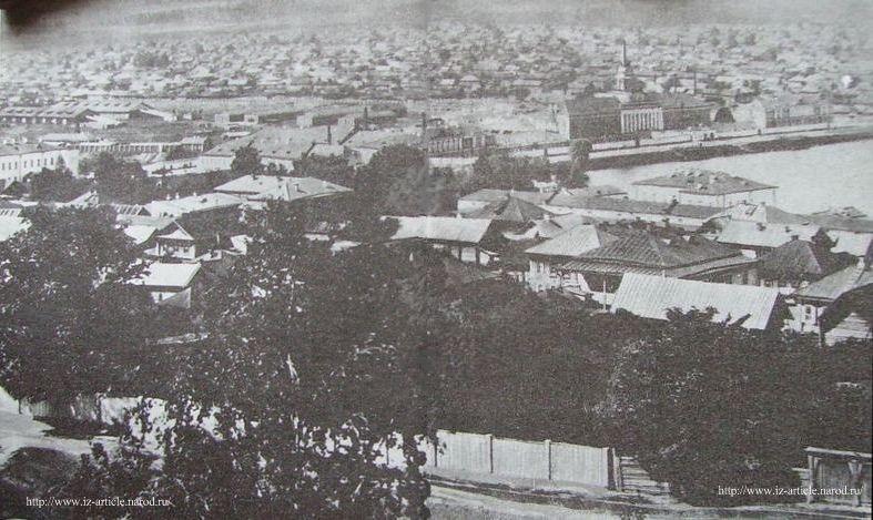 Зарека, Ижевский завод, Панорама Ижевска