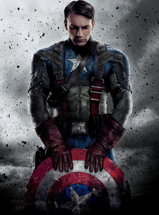 Как зовут актера капитан америка