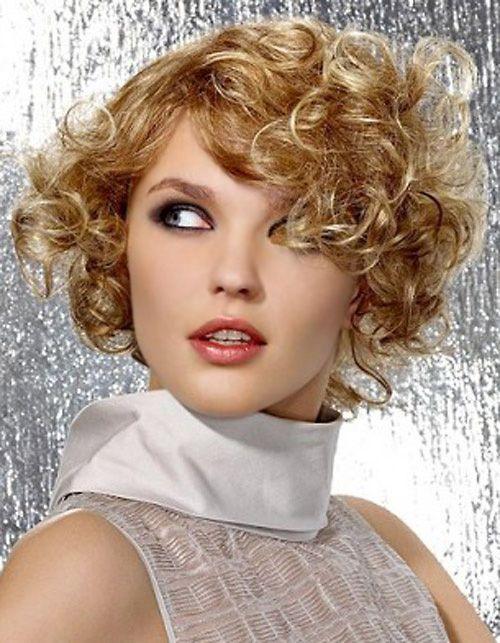 стрижки на средние вьющиеся волосы