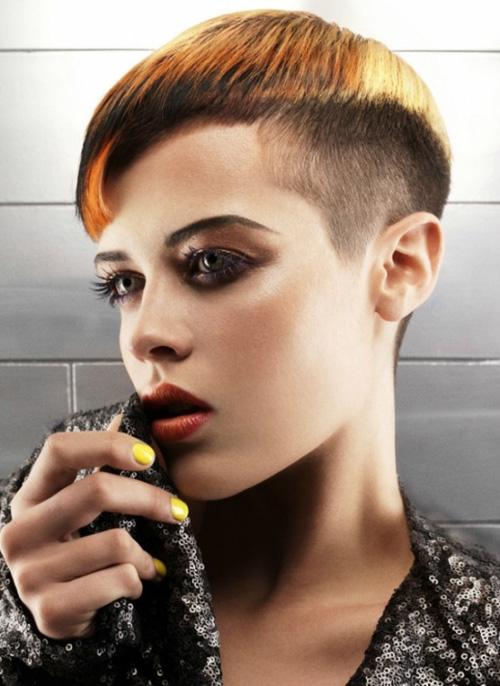 Celebrity short hairstyles fall 2012 women