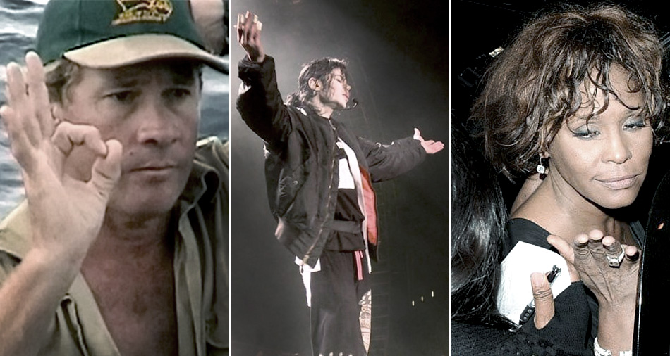 Last photos of celebrities before they died