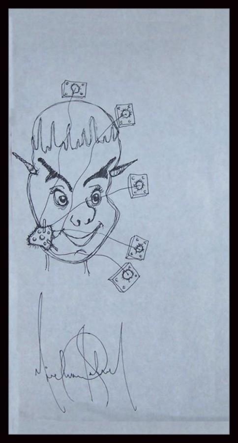 Рисунки майкла джексона
