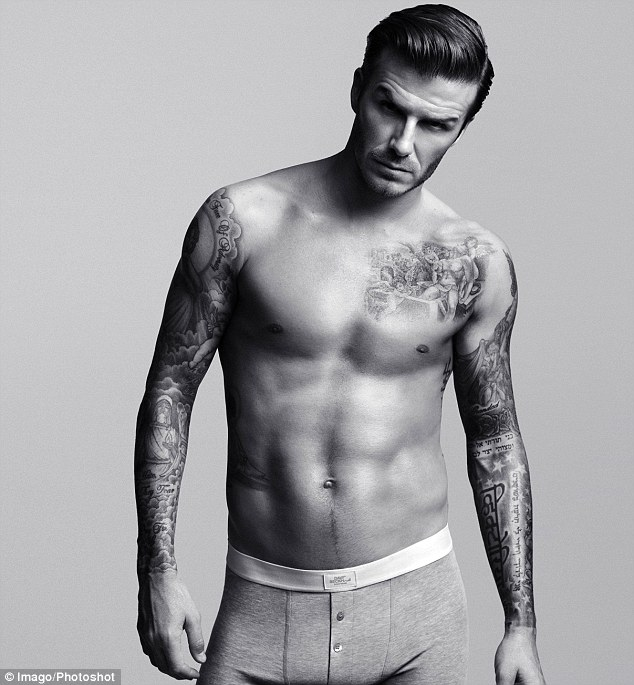 David beckham side tattoo meaning