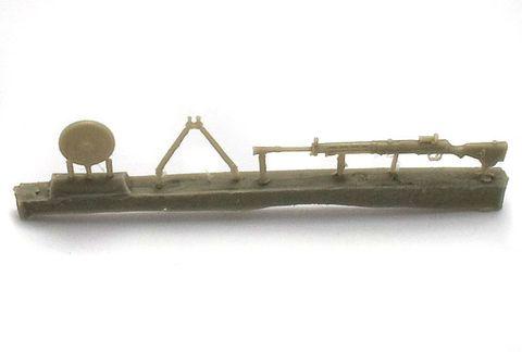 Soviet light machine gun DP-27, 3 pc