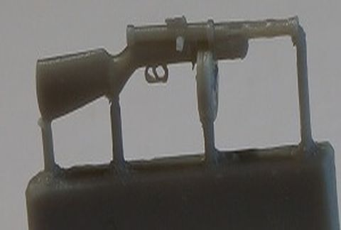 PPD-40 submachine gun, 6pc