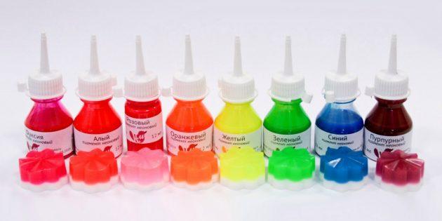 Мыло ручной работы: красители