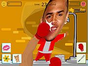 Punching chris brown game